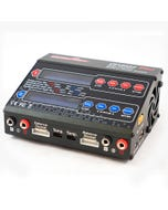 Ultra Power 100AC Duo 100w Dual Output AC/DC Charger with 2x XT60 Charge Leads