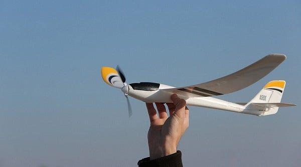 radian rc glider