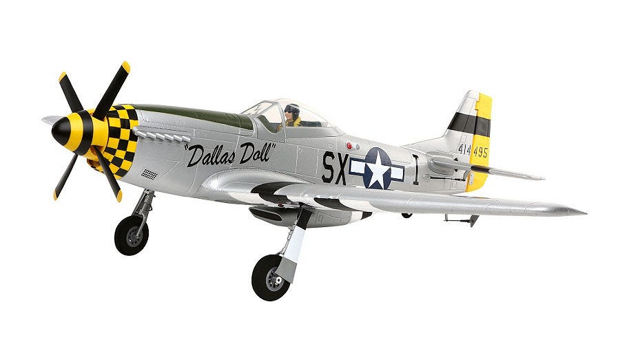 E-Flite P-51D Mustang RC Plane Coming Soon