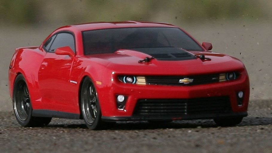 camaro rc car