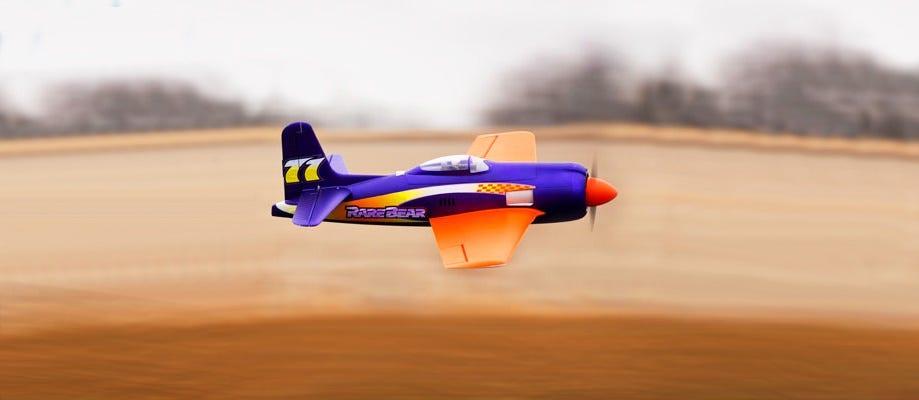 rare bear rc plane