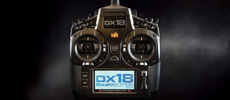 spektrum dx18 stealth