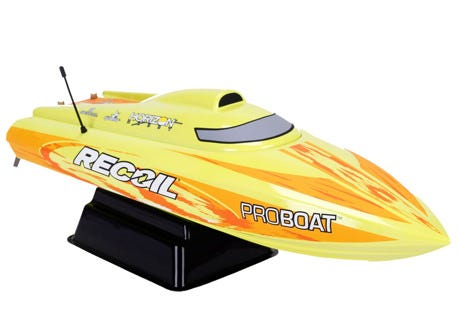 RC boat Recoil