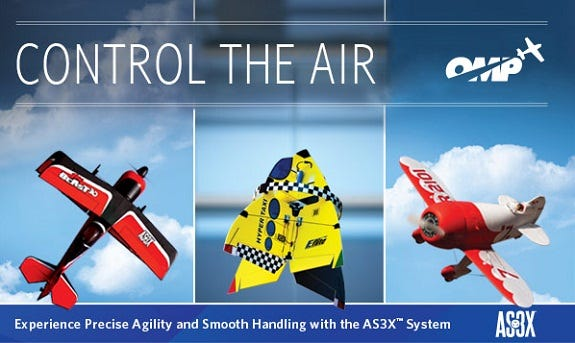 Introducing the AS3X System & Equipped UMX RC Planes