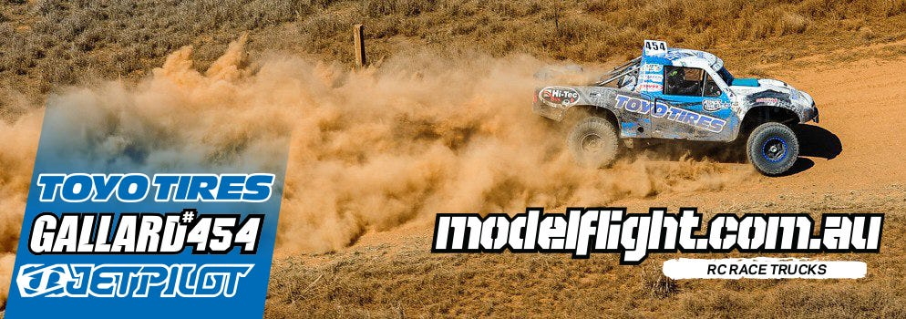 Modelflight Becomes Proud Sponsor of The Brad Gallard #454 Trophy Truck Team