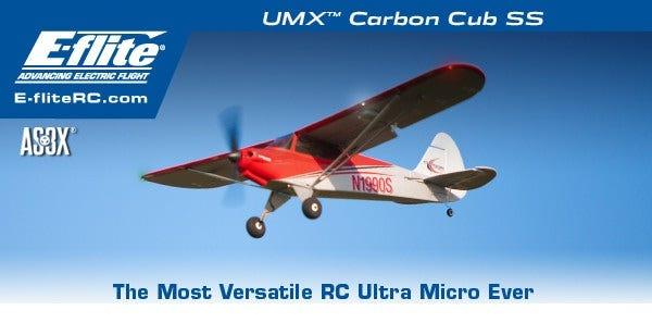 E-flite Carbon Cub SS RC Plane
