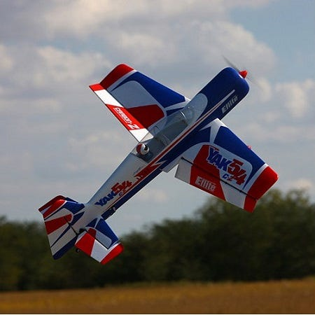 Chuck's E-Flite UMX Yak 54 180 BNF Review and Demo Videos