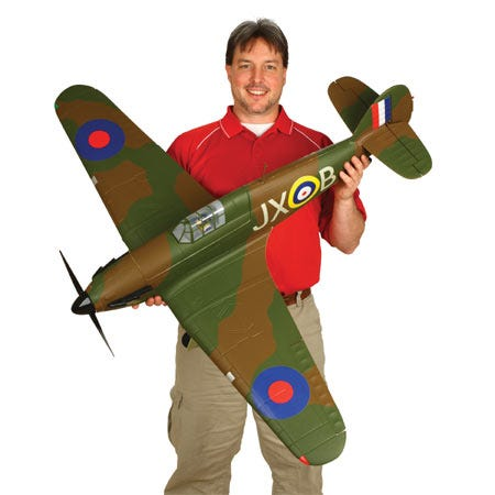 NEW! Hawker Hurricane 25e RC Plane from E-flite