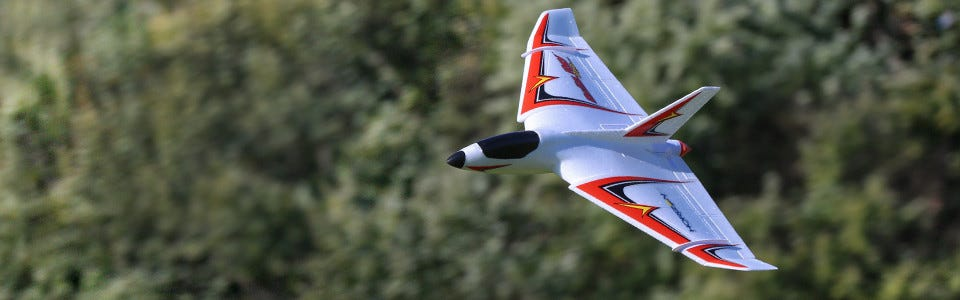 Delta Ray One RC Plane has arrived at Modelflight