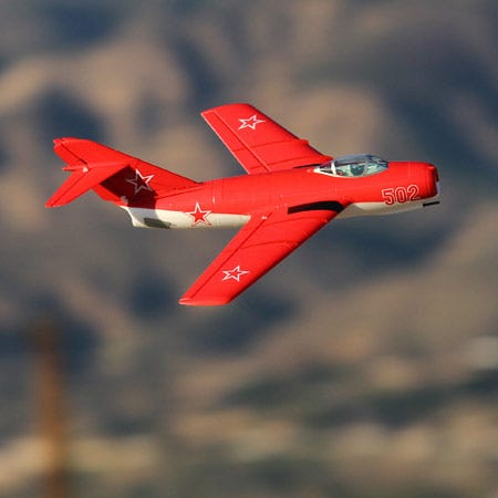 Chuck Reviews the UMX Mig 15 DF by E-Flite