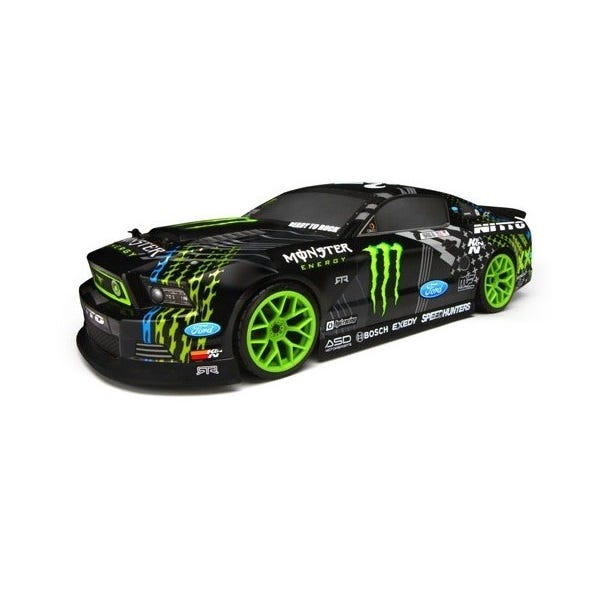 HPI E10 Drift Monster 2013 Mustang RC Car - Just Arrived at Modelflight