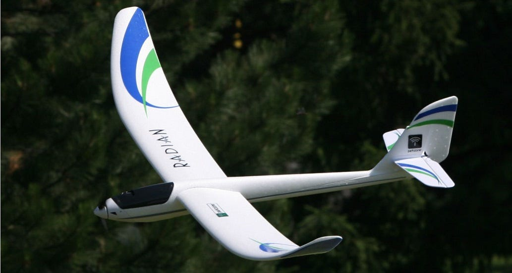 Popular Radian RC Glider Turns 10