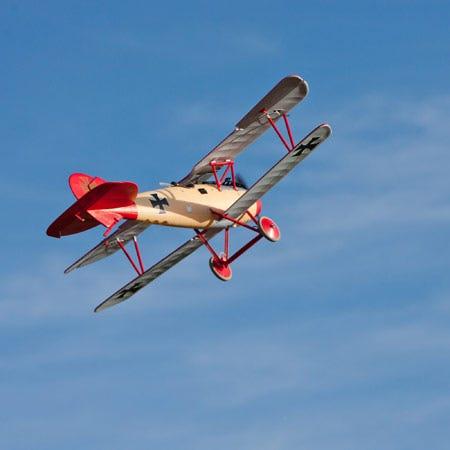Un-Boxing & build of Parkzone's Albatros DVa