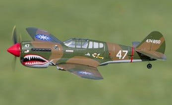 Welcome P-40 Warhawk,VisionAire and AR635