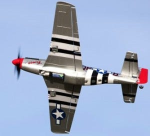 ParkZone Ultra Micro P-51D Mustang - Flying