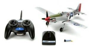 ParkZone Ultra Micro P-51D Mustang - Unboxed