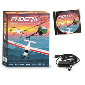 Phoenix Flight Simulator V5 Software Arrives at Modelflight