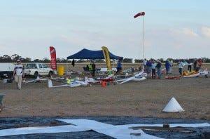 Model glider event