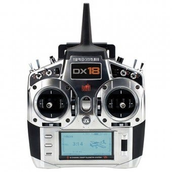 New Spektrum DX18 RC Radio Coming Soon to Modelflight