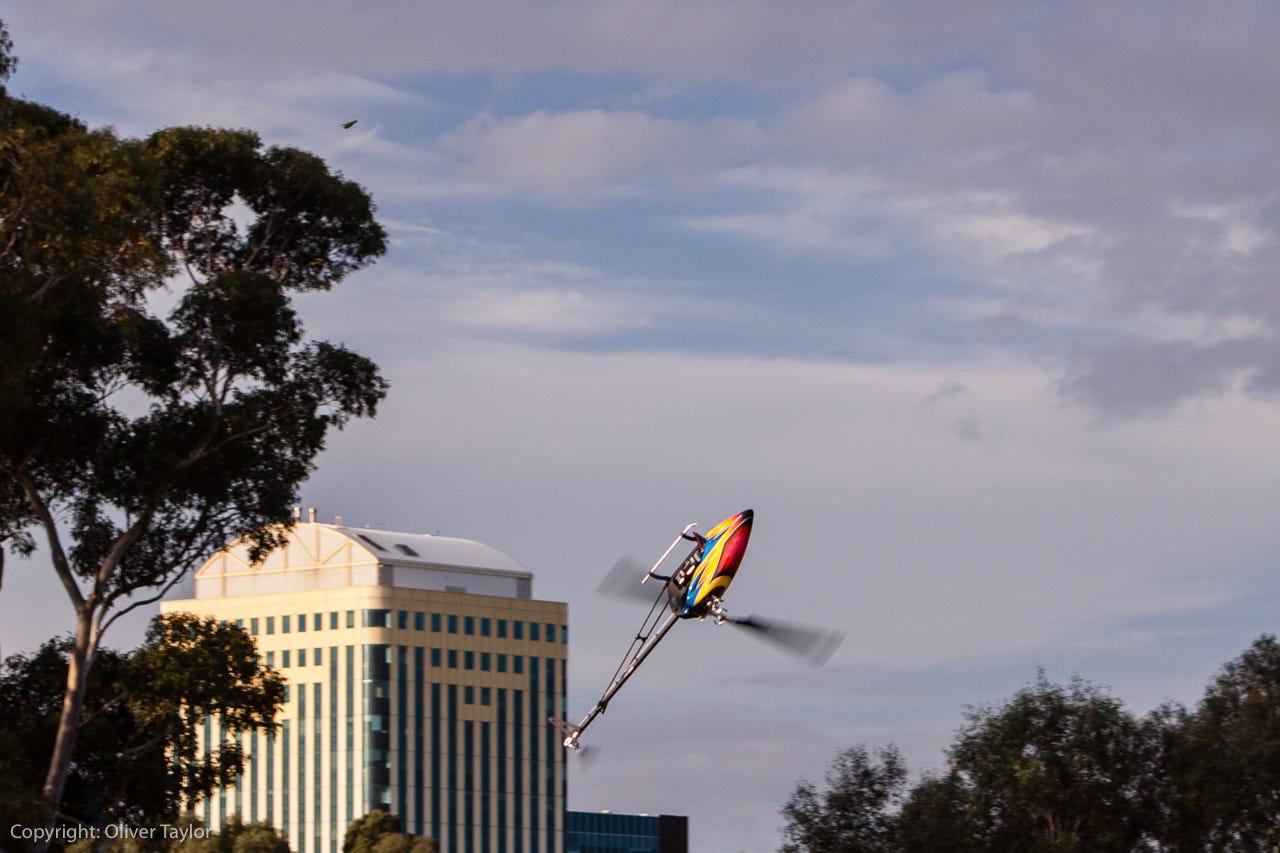 tsa model helicopter