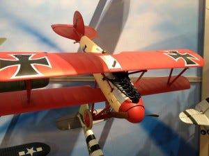 Parkzone Albatros DVa WW1 RC Plane