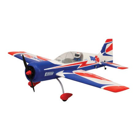 Chuck's E-Flite Carbon Z Yak 54 Unboxing and Demo