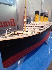 Graupner Boat; the Titanic