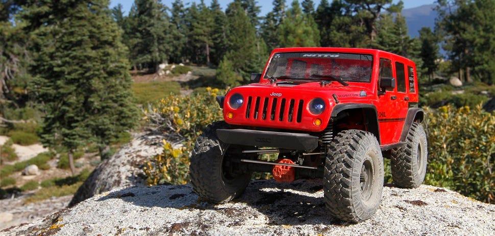 Axial SCX10 II Jeep Cherokee Crawler