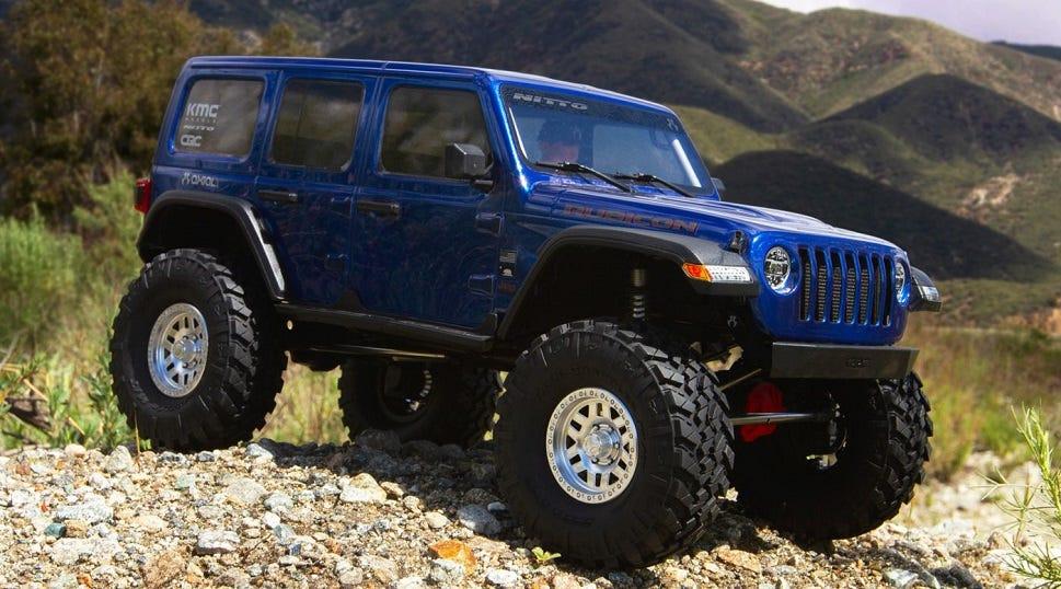 Axial SCX10 III Jeep JL Wrangler Kit
