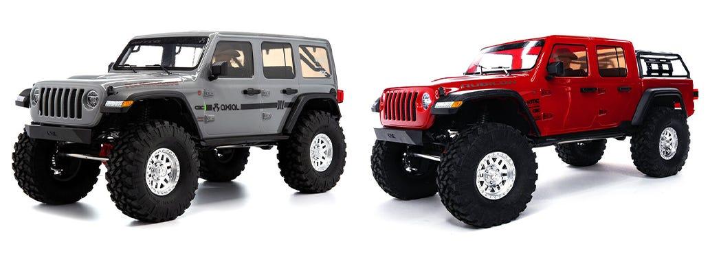Axial SCX10 III Jeep RC Crawlers
