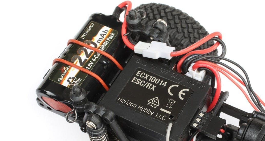RC Battery Connector in RC Car