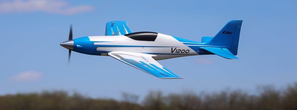 E-flite V1200 RC Plane
