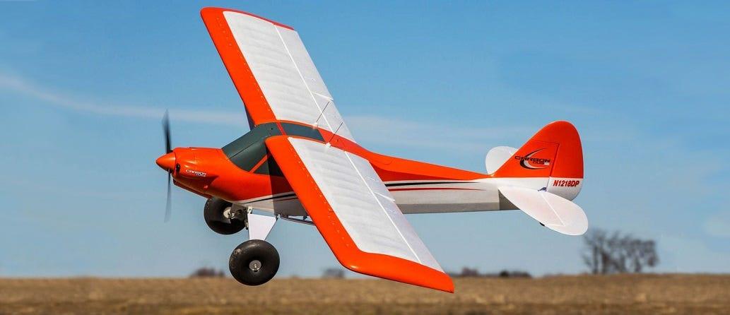 E-flite Carbon-Z Cub SS RC Plane