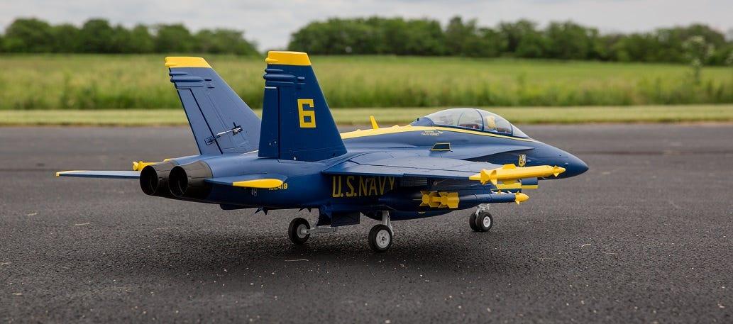 F-18 Blue Angels Model RC Plane