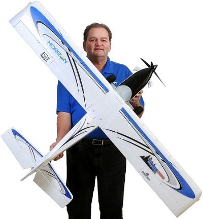 E-flite Turbo Timber RC Plane