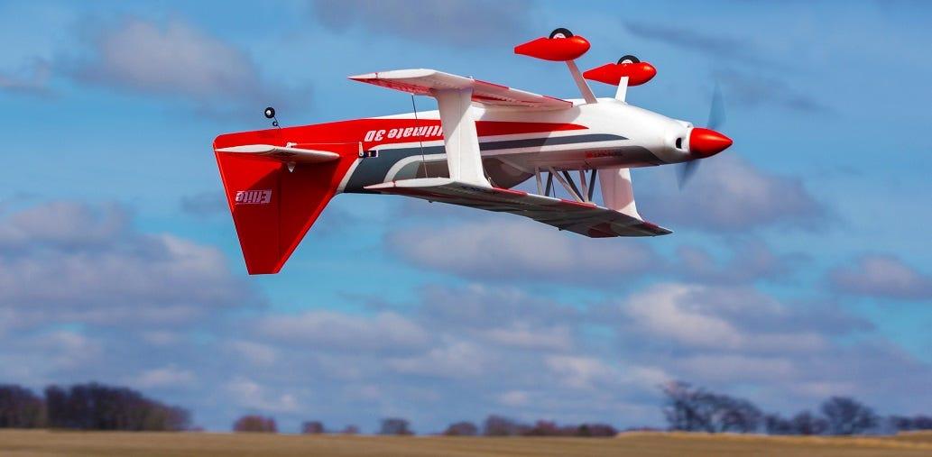 E-flite Ultimate 3D RC Biplane