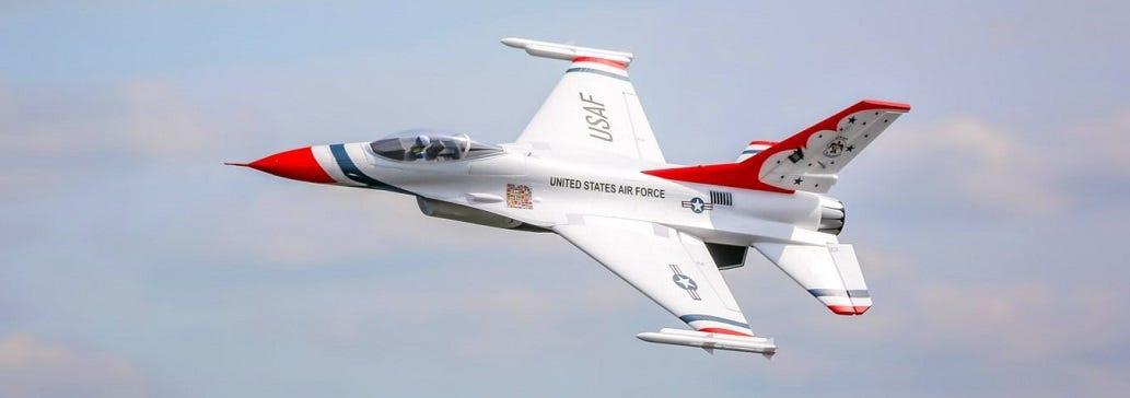 E-flite F-16 Thunderbird RC Jet