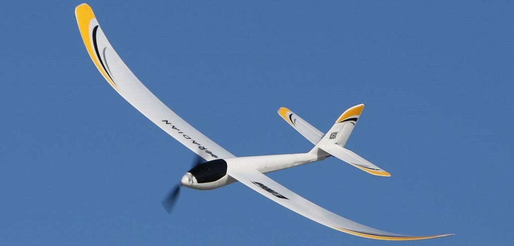 E-flite UMX Radian Glider