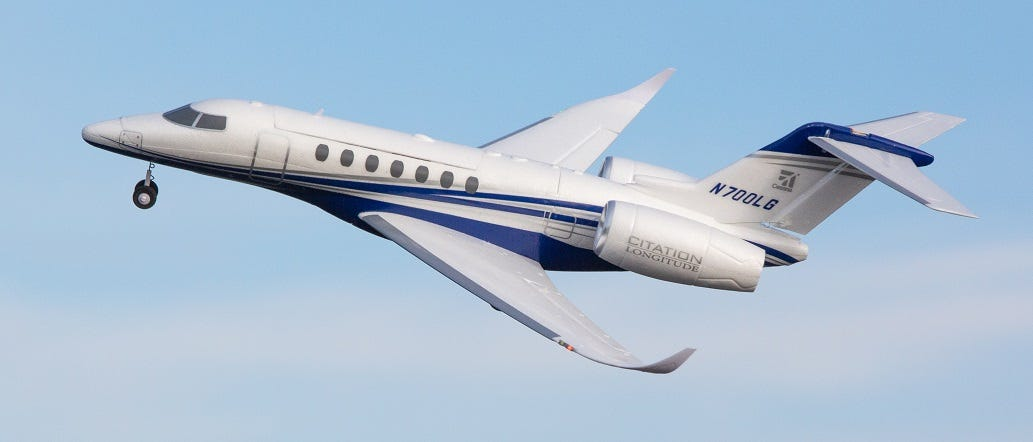 Cessna Citation Longitude Jet Replica
