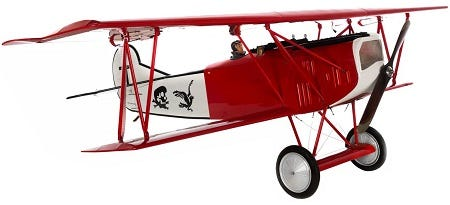 Fokker D.VII replica