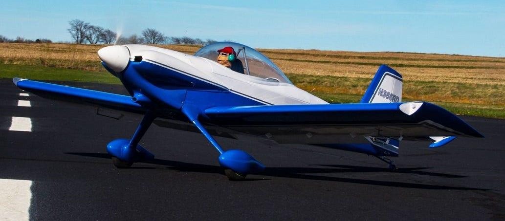 Van's RV-4 model plane
