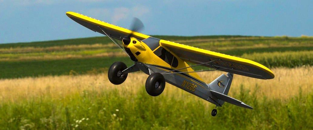 HobbyZone Carbon Cub S+ RC plane
