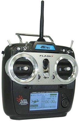 Hitec Flash 7 Transmitter