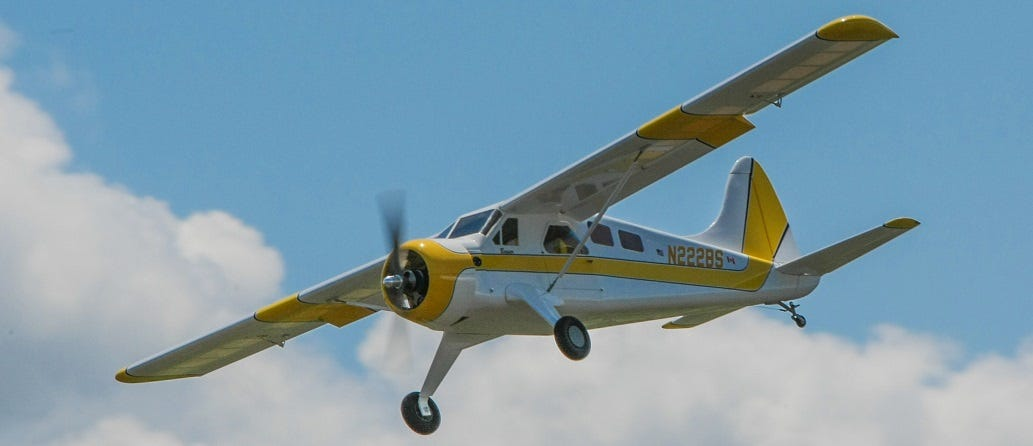 Moustache Model Works DHC-2 Beaver RC kit