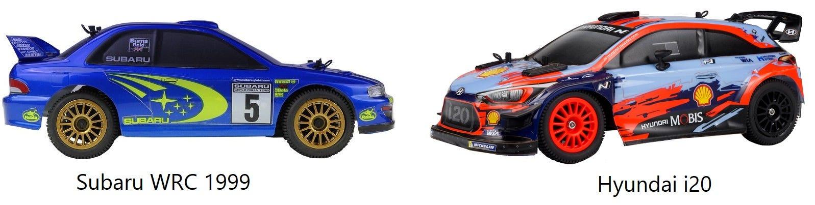 GT24 WRC RC Rally Cars