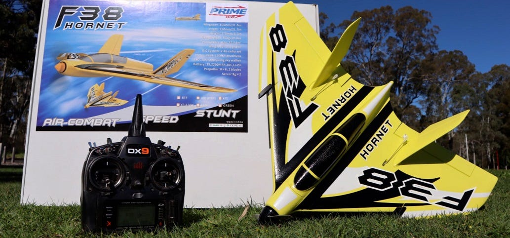 Remote Control Flying Wing