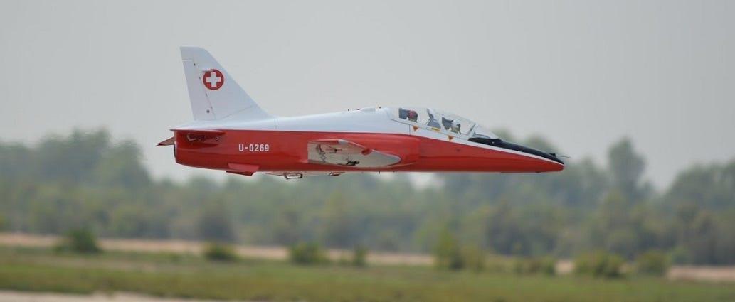 BAE Hawk Jet replica