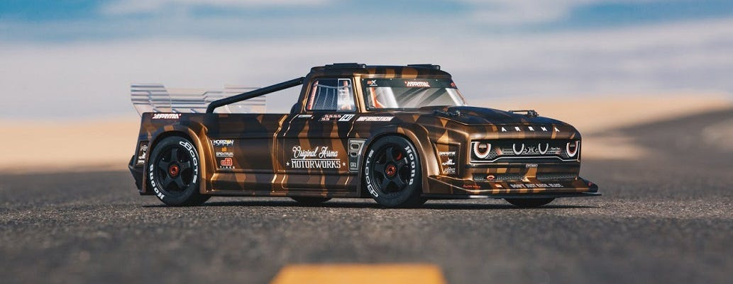 ARRMA Infraction RC Car