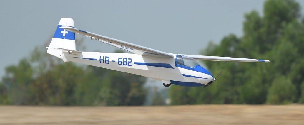 Ka8B RC Glider