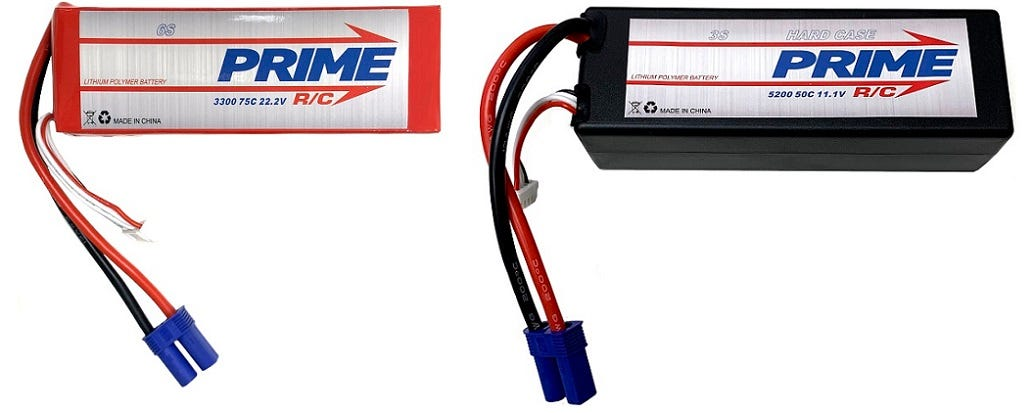 Prime RC LiPo Batteries